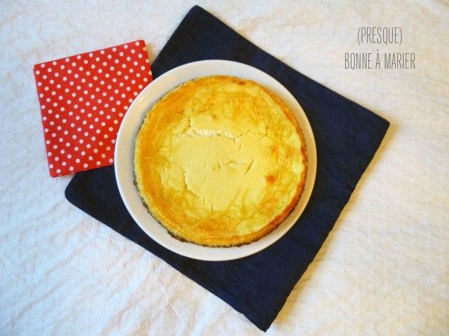 Cheesecake Spéculoos citron