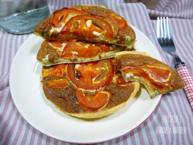 Quichettes mousseuses tomate moutarde