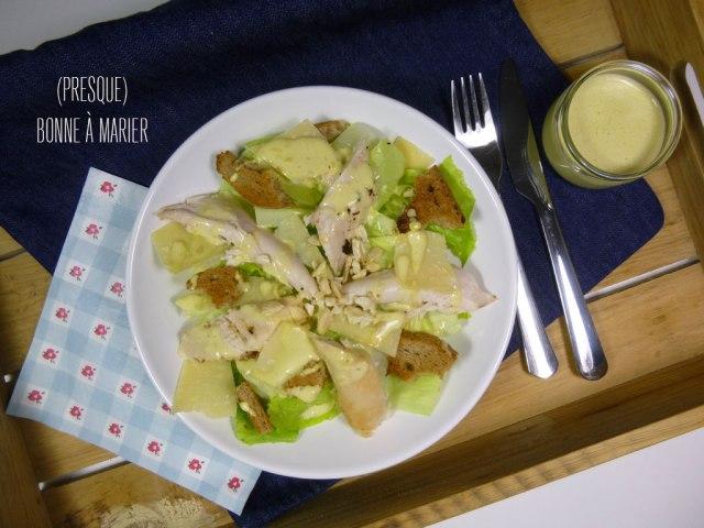 Salade Caesar meilleure qu'au restau