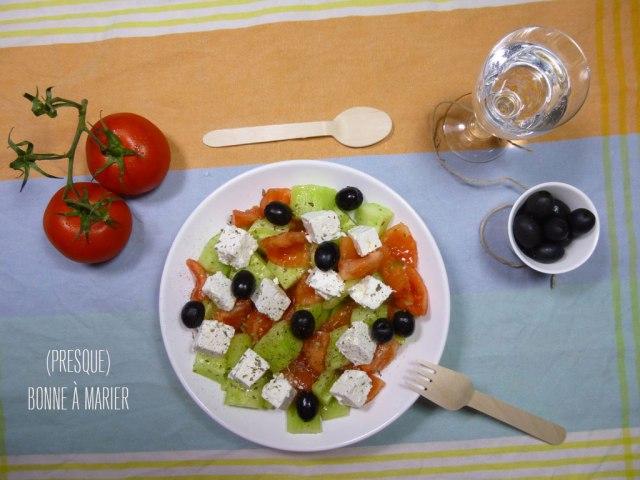 Ma salade grecque