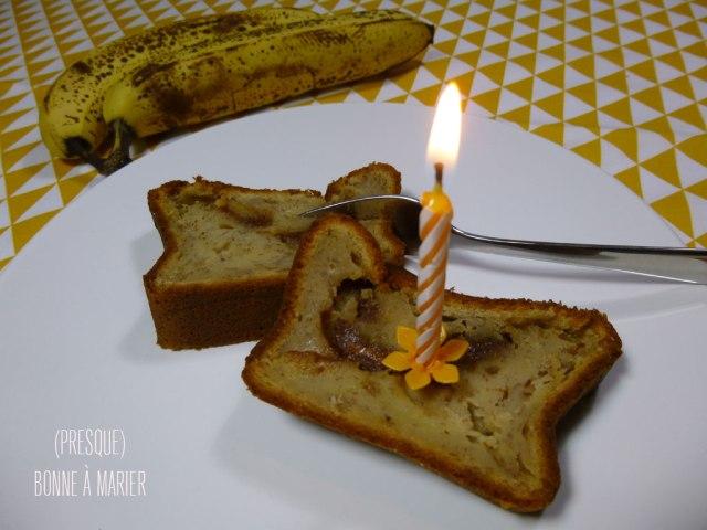 Cake fondant aux bananes 2ème tentative
