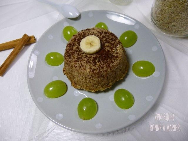 Bowl cake à la banane et à la cannelle
