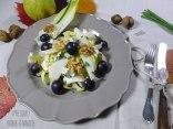 Salade d'automne aux endives, poires et roquefort