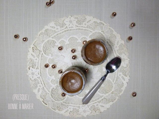 Mousse au chocolat vegan sans œuf