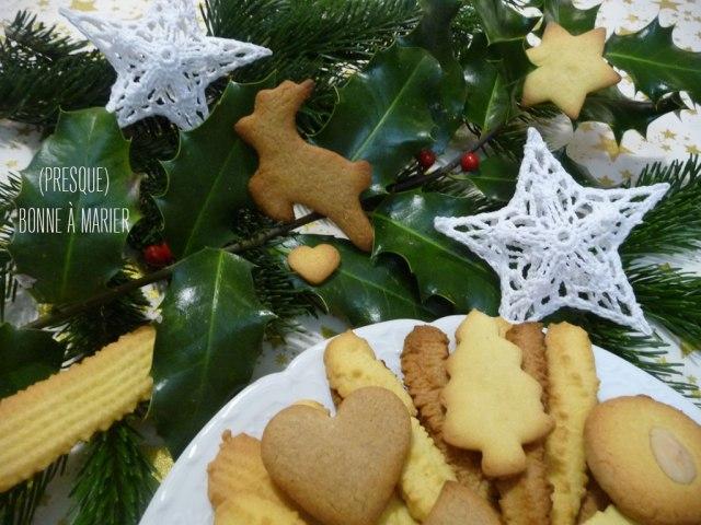 Les spritz et biscuits de Noël de Mamie