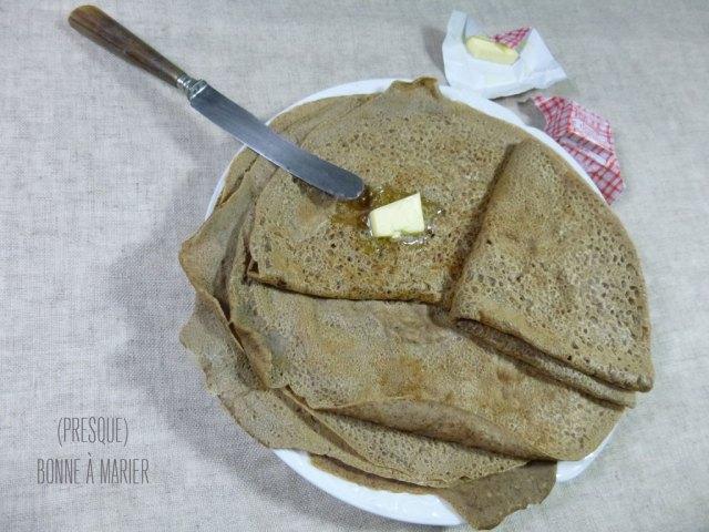 Pâte à galettes de sarrasin