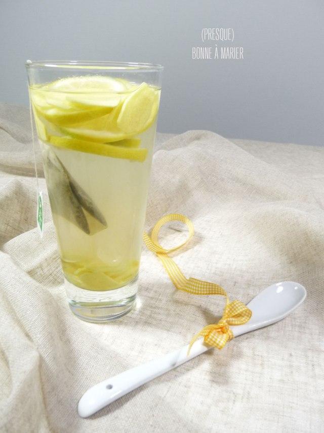 Morning thé detox citron gingembre cannelle