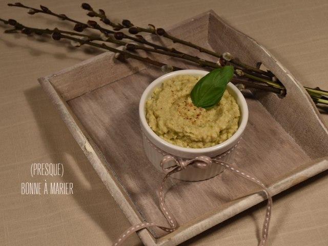 Tartinade aux cœurs d'artichauts et olives vertes