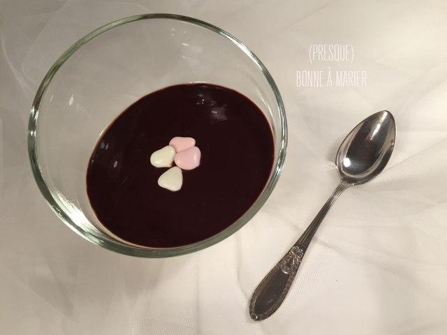 Panna cotta vanille au chocolat