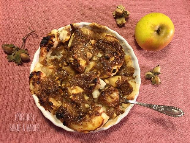Pommes au four aux noisettes