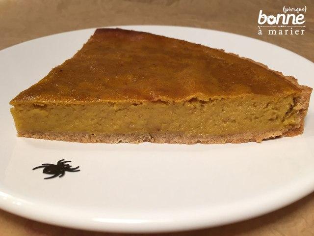 Pumpkin pie ou tarte à la citrouille