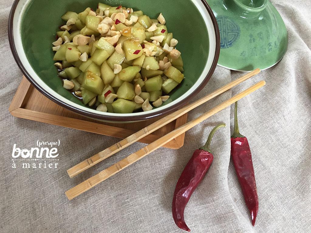 Recettes de salade de concombre asiatique