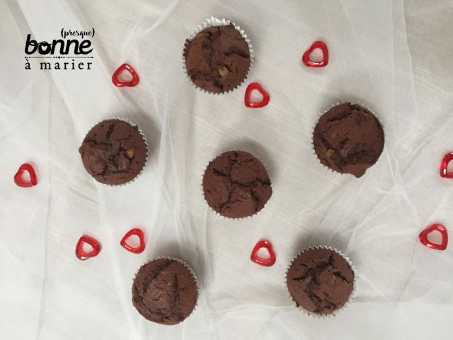 Muffins « orangettes » au cacao et oranges confites