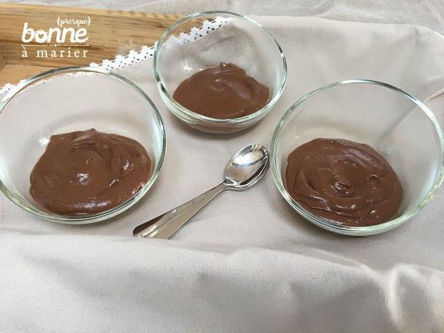 Mousse au chocolat très ferme