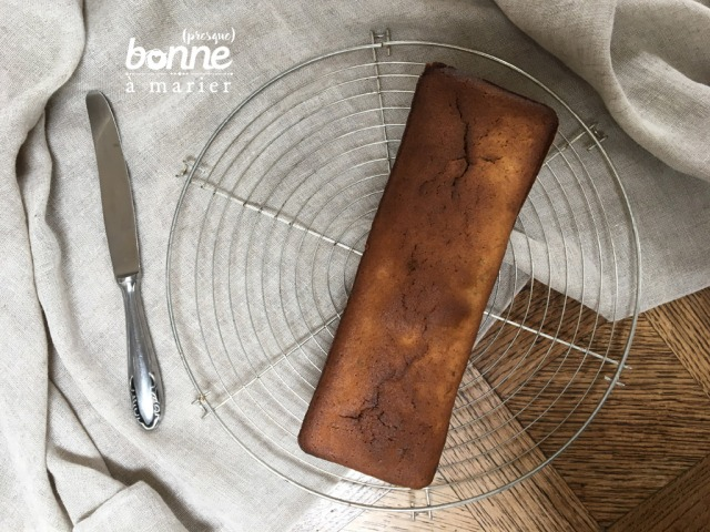 Cake aux bananes flambées
