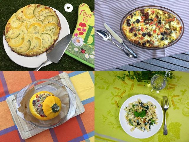 17 idées recettes pour cuisiner les courgettes
