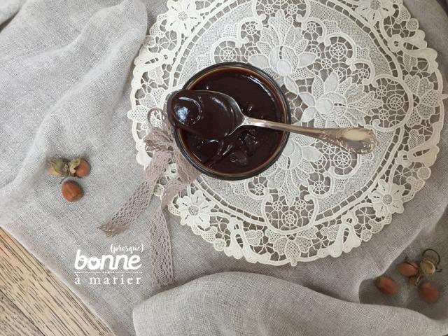 Pâte à tartiner noisette chocolat facile