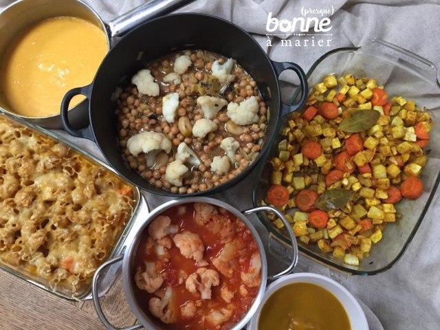 Mon expérience du batch cooking