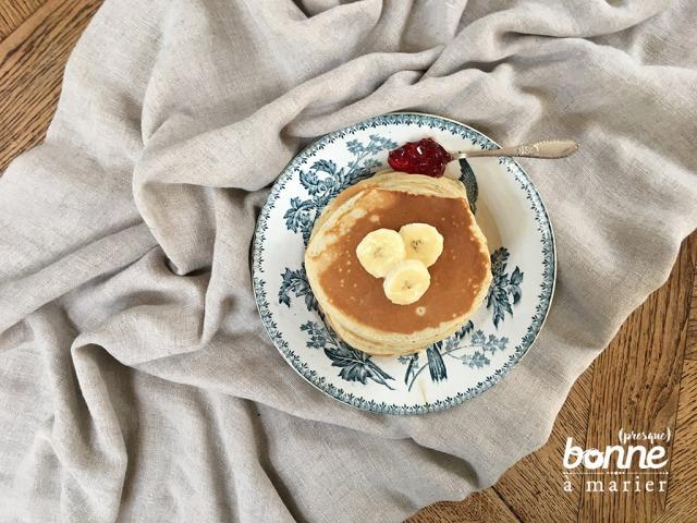 Pancakes aux bananes