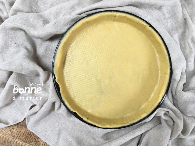Pâte sablée pour tartes sucrées