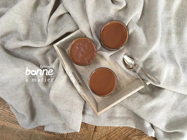 Crème au chocolat vegan 3 ingrédients