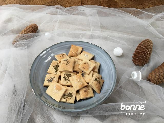 Crackers à l'épeautre et aux graines